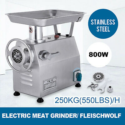 Automatic Meat Mincer Grinder Butcher Mincing Machine TK-22 220V 250kg/h