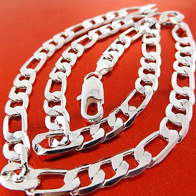 A821 Genuine Real 925 Sterling Silver Sf Solid Mens Italian Style Necklace Chain