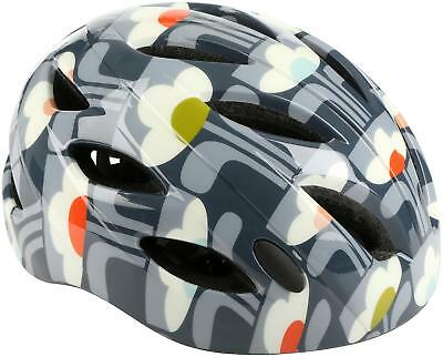 Olive And Orange By Orla Kiely Womens Bicycle Bike Helmet 54-58cm - Tulip