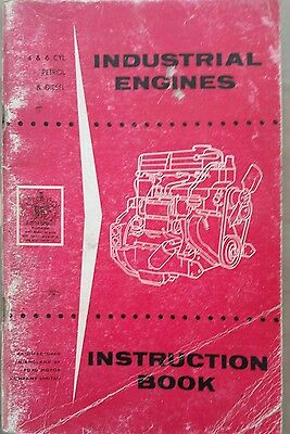 Ford 4 & 6 Cylinder Industrial Engine Operators Manual