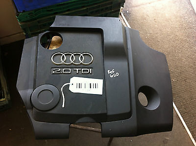 2004 2008 Audi A4 B7 2.0 TDi Silver Saloon Engine Cover 03G103925AS Ref 6110