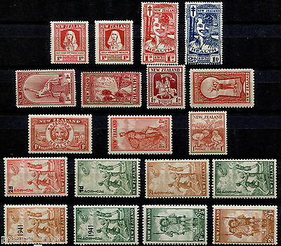 New Zealand NZ 1929 - 1942 Collection of health issues - Mint
