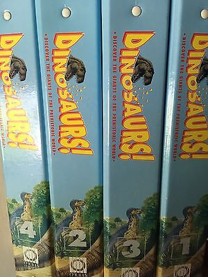 DINOSAURS MAGAZINE - ORBIS  - Play and Learn - 4 Folders All Full 1 To 52