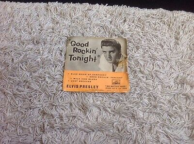 "Elvis Presley......""good Rockin' Tonight"" Ep. Hmv  7Eg 8256"