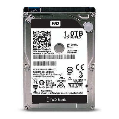 WD Black Performance Hard Drive WD10JPLX - 1TB Sata 6Gb/s