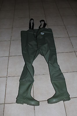 Size 7 Fishing Waders Chest Waders Shakespeare Pvc  Waders Lud Sole Boot