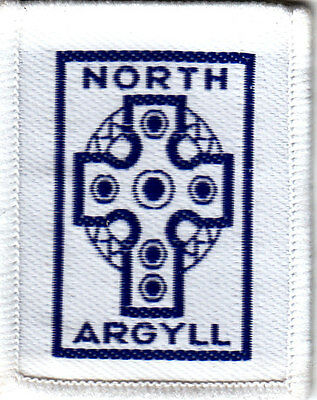 Boy Scout Badge Ext NORTH ARGYLL Scotland