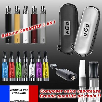 Cigarette Electronique ORIGINAL EGO-T Batterie 1100mAh  Atomiseur CE4
