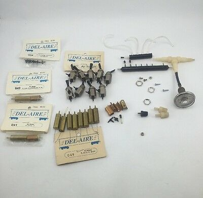 Del-aire pneumatic Turnout control system air motor air toggle manifold e-z aire