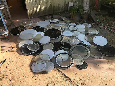 Monster Lot 50+ of Dw Evans Remo Tama Sonor Drum Bass Tom Snare Heads Huge Lot