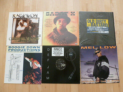 "Rap Hip Hop 12"" LP LOT  90's Rap"