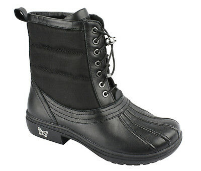 New Alegria Women's Stormy Boots Black 38