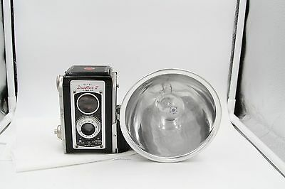 VINTAGE KODAK DUAFLEX ll CAMERA W/FLASH