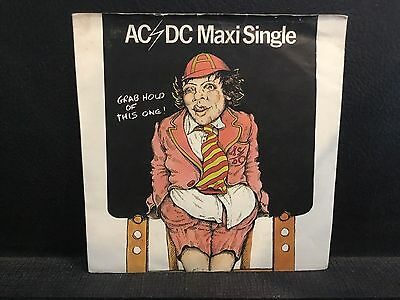 "AC/DC - Grab Hold Of This One 7"" Maxi Single - Dirty Deeds Done Dirt Cheap -Rare"