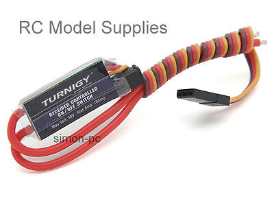 Turnigy RC Receiver Controlled Switch on/off 10A 30V LED etc UK Fast Dispatch