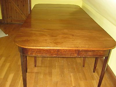 Very Large George Iii  Mahogany Dining Table To Seat 12/14