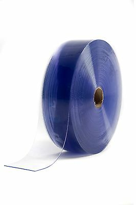 PLASTIC STRIP- PVC STRIP CURTAIN DOOR / COOLROOM  ROLL Clear 50m x 100mm x 2mm