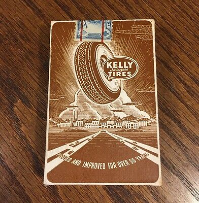 Sealed Vintage Kelly Springfield Automobile Playing Cards US Bicycle Antique