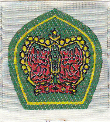 Boy Scout Badge obsolete miniture KING SCOUT Award Malaysia
