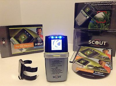 New in Sealed Box Digital Scout Golf Ball Locator System BallFinder + Clip + DVD