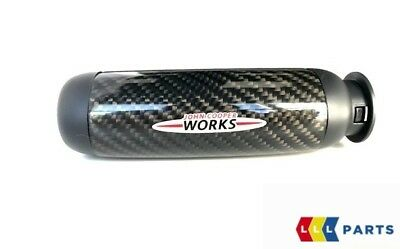 New Mini R50 R52 R53 R55 R56 R57 Emergency Handbrake Jcw Handle Leather Carbon