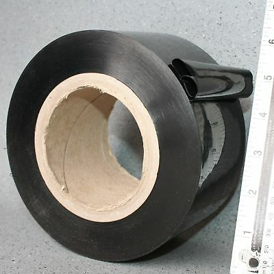 Tape 2inch Wide Black 100mtr Glass UPVC Safety Transport Tough Strong Low Tack
