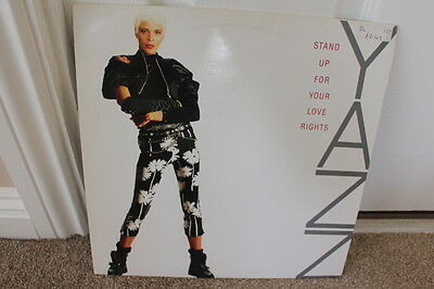 """12"""" Vinyl, Yazz, Stand Up For Your Love Rights, Disco, Exc Cond"""