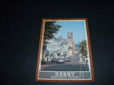 N. Ireland J.h. Postcard The City Of Derry