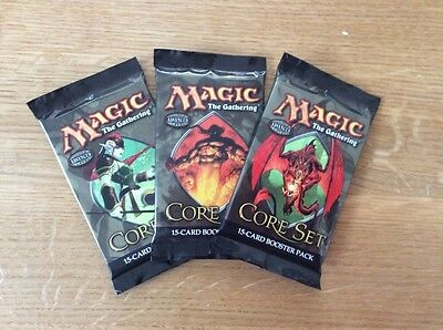 Magic the Gathering 9th Edition Core Boosters, Set of 3, New and Sealed