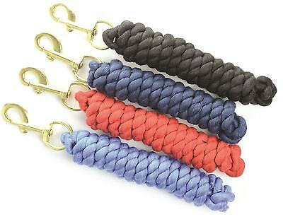 Hy Lead Rope with a Brass Trigger Hook 4 Colours 1.7m 4740P