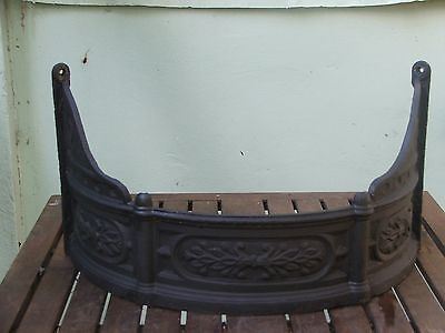 antique Victorian fireplace surround to complete a fireplace restoration