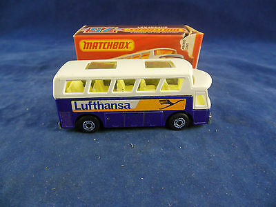 Matchbox Superfast MB - 65 b Airport Coach Lufthansa