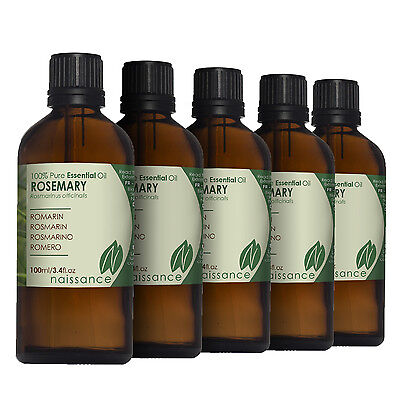 Naissance Wholesale Rosemary Essential Oil 500ml (5 x 100ml)