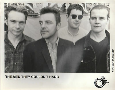 """THE MEN THEY COULDN'T HANG SCARCE 10"""" x 8"""" BLACK & WHITE PUBLICITY PHOTOGRAPH"""