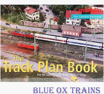 Marklin 7451 HO Layout Track Plan Book English Edition (New)