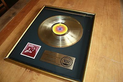 Marilyn McCoo & Billy Davis jr - RIAA Gold LP Award /I Hope We Get to Love...