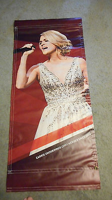 RARE!! Carrie Underwood Grand Ole Opry Vinyl Poster Banner