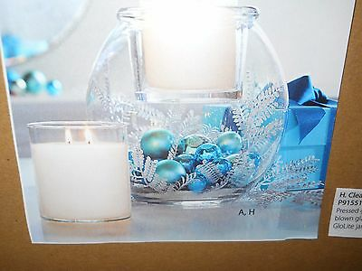NIB PartyLite GloLite Jar Holder Centerpiece P91551 $60