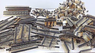 1LB Gold Scraps Recovery Header Connectors Pins Gold Plated High Yield 453g Old
