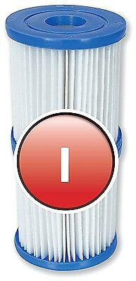 Filter Cartridges Replacement Inflatable  Bestway Size I 3.1x3.5 Inch. TWIN PACK