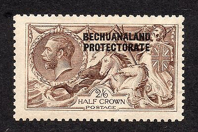 overprint Bechuanaland protectorate sg 86 De La Rue 2/-6d brown Mint own gum.