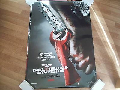 Inglourious Basterds Cinema one sheet Poster full size ORIGINAL Tarantino B