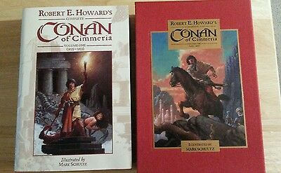 Robert E Howard's Conan of Cimmeria Volume One Limited Edition