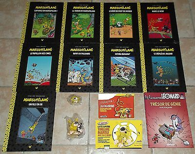 MARSUPILAMI HACHETTE COLLECTION 9 albums dont 2 sous blister + KDOs
