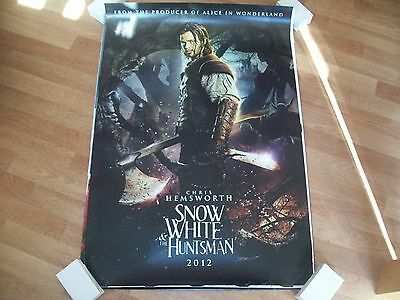 Snow White and the huntsman Cinema one sheet Poster full size Chris Hemsworth