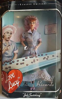 I Love Lucy Collector Edition Episode 45 Job Switching Lucy Mattel Doll