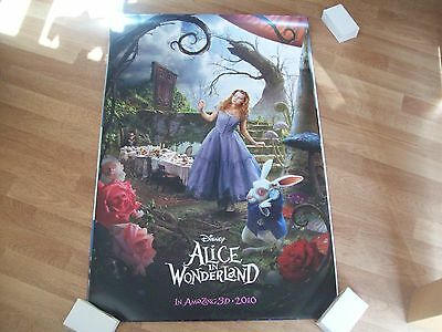 Alice in wonderland original cinema poster one sheet full size D/S B
