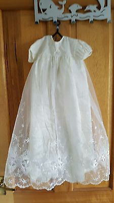 Vintage christening dress size 27""