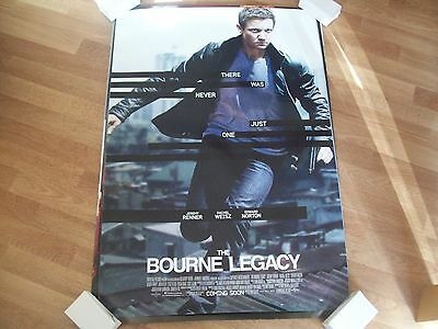 The Bourne Legacy original Cinema one sheet poster DS  FULL SIZE Jeremy Renner