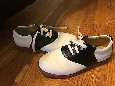 Women's Size 7 W Shoes Cheer Saddle Oxfords 50s Dress Up Costume